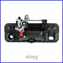 Black Tailgate Handle Reverse Backup Camera Kit Set for Tundra Pickup Truck