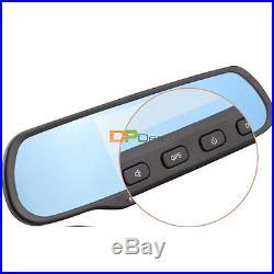 Bluetooth 5 HD 1080P Android WIFI Rear View Mirror GPS Navi Camera CAR DVR H700
