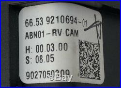 Bmw F01 F10 F11 F20 F30 F32 F33 Rear View Camera 9240351 Ruckfahrkamera 9210694