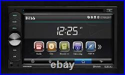 Boss Car Audio Stereo Bluetooth 6.2 inch Touchscreen LCD Monitor with Rear Camera
