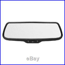Brandmotion FLTW-7692 7.3 Digital LCD Rear View Backup Camera Display Mirror