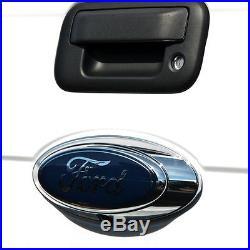 Brandmotion Rear View System Oval Emblem OEM Camera, Complete Kit