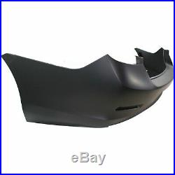 Bumper Cover For 2013-2015 Chevrolet Malibu with View Cam Primed Rear