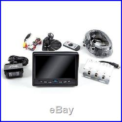 Camera Photo Rear View Safety Backup Camera System with 7\ Display (Black)