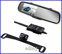 Car Camera Kit Vehicle Wireless Backup Rear View Monitor Waterproof Portable