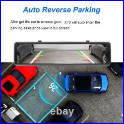 Car DVR Android 8.1 Rearview Mirror reversing camera Wifi Dash Cam video recorde