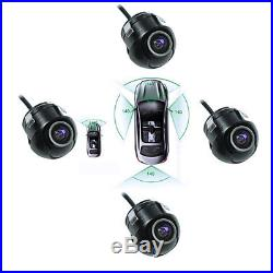 Car Parking Assistance Panoramic View Rearview Camera System With Monitor System