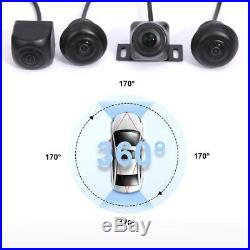 Car Parking Panoramic View Rearview Camera System 360 Degree View with4 Camera