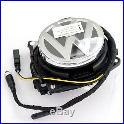 Car Reverse Camera For VW Volkswagen Emblem Flip Logo Camera Magotan CC GOLF EOS