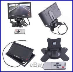Car SUV 4-CH 360° All Around View System DVR Camera Night Vision & 7 HD Monitor