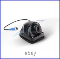 Car Waterproof 4CH 720P AHD DVR Box 7 HD Monitor With 4 Pcs CCD Reverse Cameras