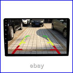 Double Din 9 Android Car Stereo Bluetooth Screen Mirroring Reverse Camera 9001