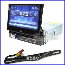 Dual Car Stereo Single DIN Bluetooth 7 Flip Out Touchscreen Rear view Camera 1
