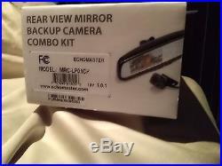 EchoMaster Rear View Mirror Backup Camera Combo Kit