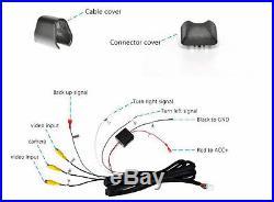 Echomaster Backup Camera, 7.3 Rear View Mirror Monitor, (2) Blind Spot Cameras