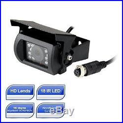 Esky 7-Inch TFT LCD Color Monitor Car Backup Rear View Camera System Night Visi