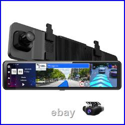 FHD 1080P Android 8.1 4G Car Rearview Mirror DVR Camera Dual Lens Video Recorder