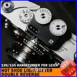 For Leica DOOMO METER D Hot Shoe Light Meter Double Reverse 120/135 Rangefinder