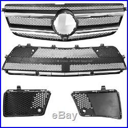 For Mercedes Benz X166 GL-Class 13-16 GL63 AMG Style Full Kit Front Rear Bumper