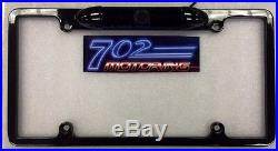 For Pioneer Avh-4000nex Night Vision Color Rear View Camera Black Metal Frame