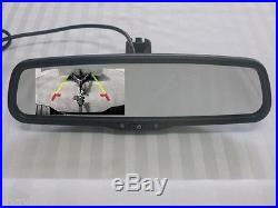 Ford Auto dimmer rear view mirror with built-in 4.3LCD screen & Reverse Camera