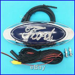 Ford Chrome Emblem Backup Camera Tailgate Fit For F150 F250 F350 2004-2016 Logo