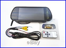 Ford Transit Custom 12-15 IR LED Brake Light Parking Reverse Camera + 7 Monitor