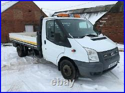 Ford Transit Dropside 155t 350l, 2012, 14ft Bed, Recon Engine And Gearbox Vgc