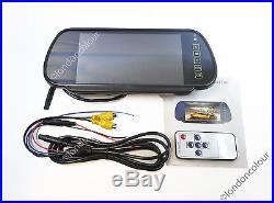 Ford Transit IR LED Brake Light Rear View Reversing Camera + 7 Inch Monitor Kit