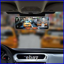 Frameless Rear View Mirror with 7 LCD Screen and 4 Video Inputs + Two Cameras