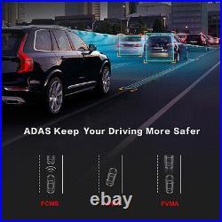 Full screen RearView Mirror DVR camera GPS Android Car Camera smart Dash Cameras