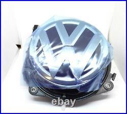 GENUINE VW GOLF Mk7 VII REVERSING CAMERA IN EMBLEM 5G0827469F NEW WITH HARNESS