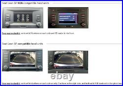 Genuine NEW SEAT 5F Leon 2013 Reverse Camera System
