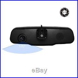 HD 1080P 4.3'' Car DVR Rear View Mirror Dash Cam Camera Video Recorder G-sensor