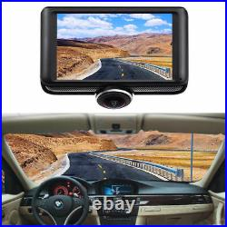 HD 4.5 Car DVR 360° Dash Camera Video Rear View Monitor Home Security Cam+32GB