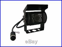HD 7 QUAD MONITOR BUILT-IN DVR 3x CAR REAR VIEW CAMERA KIT FOR TRUCK TRAILER RV
