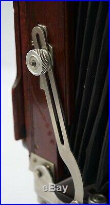 Handsome Deardorff V8 8x10 View Camera Front & Rear Swing