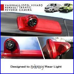 High Level Rear Reversing Camera Reverse Brake Light For Renault Trafic X82 Mk3