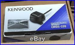 Kenwood CMOS-220 Universal Rear-View Car Backup Camera Used