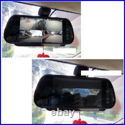 LED Brake Light Rear View Camera + 7 Monitor For Mercedes Sprinter VW Crafter
