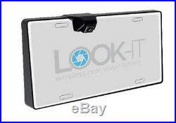 LOOK-IT Wireless Rear-View Backup Camera withPhone Mount for Apple / Android