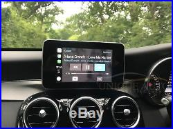 Mercedes CarPlay Retrofit Nav Reverse Camera Interface C Class GLC W205 15-18