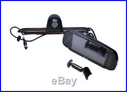 Mercedes Sprinter Brake Light IR LED Reverse Camera + 7 Stalk Monitor Kit