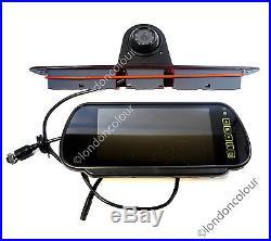 Mercedes Sprinter Brake Light Rear View Reversing Camera 7 inch Monitor Kit