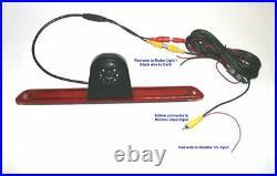 Mercedes Sprinter/VW Crafter Rear Brake Light Reversing Camera, Sony CCD
