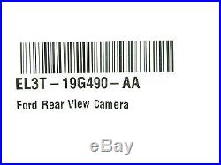 NEW OEM Ford Tailgate Reverse Camera EL3T-19G490-AA F-150 2012-2014 Rear Back Up