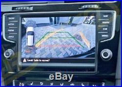 New Oem Vw Golf 7.5 2017- Highline Rear View Camera Rvc Logo Emblem Badge