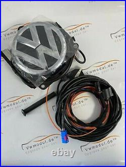 New Original VW Passat Beetle Golf 5 6 Emblem Rear View Camera Rfk with Cable