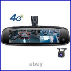 Newest Special Bracket Rearview Mirror car dvr recorder dash cam with 3 cameras