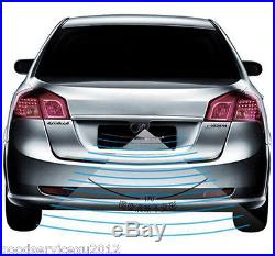 Night Vision Radar CCD Car Reverse Camera & 4.3 HD Rearview Mirror LCD Monitor